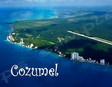 Mexico - COZUMEL  - Travel Souvenir Fridge Magnet
