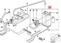 Genuine BMW E38 E39 E46 E53 E60 E61 SUV Emission Control Pipe OEM 11712249422