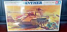 Vintage Model Kit Panzerkampfwagen V Panther 1/35 TAMIYA MT223 NIB