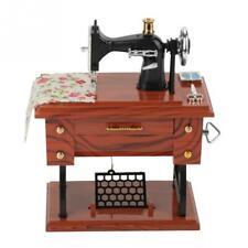 Caja De Musica Maquina Coser Mini Treadle Sewing Machine Mechanical Music Box