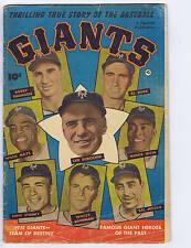 Thrilling True Story of the baseball Giants #nn Fawcett 1952