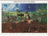 GREAT PLAINS PRAIRIE STAMP SHEET -- USA #3506 34 CENT NATURE OF AMERICA
