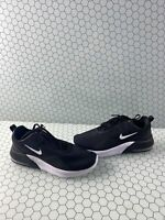 Nike Air Max Motion 2 Black/White Lace Up Low Top Running Sneakers Men's Size 10