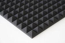 Pyramidenschaumstoff Akustik Dämmung Schalldämpfung Höhe 4cm
