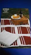 Patons Rug Knitting Pattern 4110