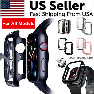 Protector Cover Hard Case For iWatch Apple Watch Series 1 2 3 4 5 6 38/40/42/44