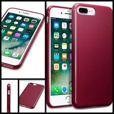 Original Apple iPhone 7 Plus Carcasa Gel TPU Flex Original Tech resistente Parachoques Rojo
