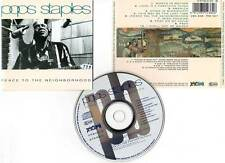 "POPS STAPLES ""Peace To The Neighborhood"" (CD) 1992"