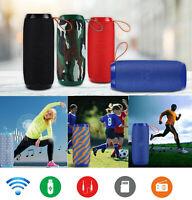 LOUD Bluetooth Speaker USB Wireless Waterproof Outdoor Stereo Bass TF/FM Radio
