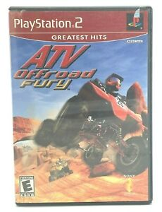 ATV Offroad Fury (Sony PlayStation 2, 2001 PS2) Complete With Manual CIB Tested