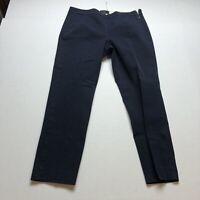 J. Crew Dark Blue Martie Crop Pants Size 6 A614