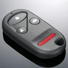 Replacement 4 Buttons Keyless Remote Case Shell Fob for Honda S2000 Civic Accord