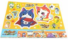 Yokai Watch The Movie Tanjou no Himitsu da Nyan! A4 STICKER SET JR TRAIN PREMIUM