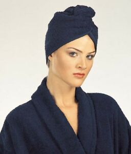 Womens Hair Wrap Spa Turkish Cotton Terry Towel Turban LOT OF 2 in a pack