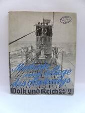 VOLK UND REICH 2 Seekriegs 1940 U Boot uboot sommergibile