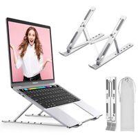 Adjustable Aluminum Laptop Stand Portable Foldable Notebook Tablet Lazy Holder