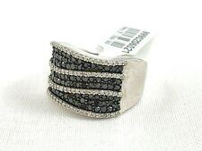 Ss Ring Diamond & Moissanite