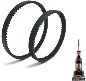 Replacement Belt Set For Bissell Proheat 2X Revolution 1548 1550 1551