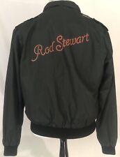 Rod Stewart 1981-82 Tonight I'm Yours Tour Crew Jacket Black Size Large