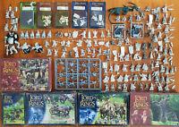 Huge Multi-Listing LOTR Metal models box sets Ringwraiths Dwarfs Elves Good+Evil