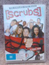SCRUBS THE COMPLETE FIFTH SEASON(4 DISC BOXSET)  DVD M R4