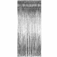 3M Shimmer Foil Window Decor Glitter Tinsel Metallic Curtain Backdrop Party