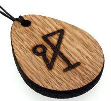 Michael ARCANGELO rigenerate Oak ciondolo in legno