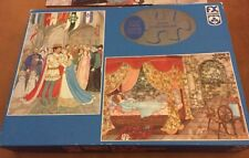 F.X. Schmidt Sleeping Beauty 2 24 Piece Puzzles In A Box (See Description)