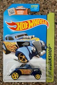 Hot Wheels Super Treasure Hunt - Pass n Gasser Long Card #209/250 MOC