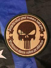 DEVGRU Navy Seal Punisher Sniper Patch VIOLENCE DOES SOLVE PROBLEMS