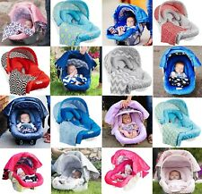 The Whole Caboodle 5 Pc Set for Baby Car Seat Carseat Canopy Cover Blanket New