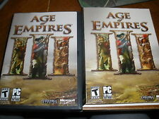 Age of Empires 3 PC Software Age of Empires III MINT