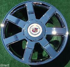 Set 4 BRAND NEW Cadillac Escalade Chrome EXACT OEM GM Style 22 inch WHEELS Tahoe