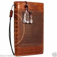 Genuine retro leather Case fit apple iphone 6s plus book wallet Sport cover slim