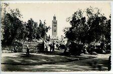 CP Maroc Morocco - Marrakech - La Koutoubia vue du Souk
