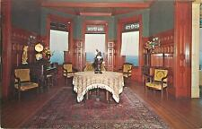 Rutland Vermont~Wilson Castle~Stained Glass Windows in Music Room~1972