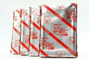 """""""BRAND NEW 4 Packs"""" FujiFilm FP-100C Pro Instant Color Film From JAPAN #1445"""