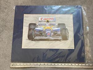 F1 Mounted Print 1992.