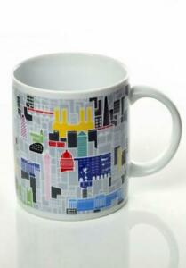 London Skyline Coffee Cup Ceramic Mug, Official Collection Great Britain