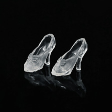 Free shipping  22 paris Transparent  crystal  Color For  BARBIE DOLL Shoes  n565