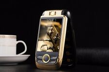 "Unlocked Magic Voice Flip V998 Double 2.6"" Screen Dual SIM Metal Body Cell Phone"