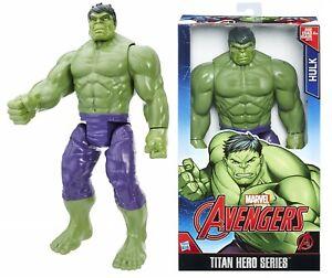 Marvel Avengers Titan Hero Series 12 Inch Hulk Ages 4+ Toy Play Robot Gift Set