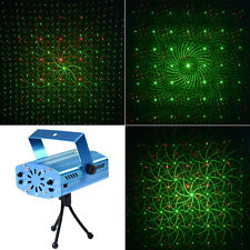 4 In 1 Mini LED R&G Laser Projector Stage Lighting Adjustment Party Club DJ New