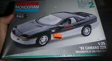 MONOGRAM 1993 CAMARO Z28 INDY PACE CAR Model Car Mountain KIT FS