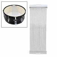 """Quality 14"""" Silver 40 Strand Snare Wire Set for Snare Drum series Replacement"""