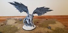 Hand Pro Painted Silver Dragon RPG Miniature