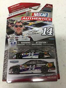 2015 NASCAR AUTHENTICS HARD DRIVERS TONY STEWART  BASS PRO SHOPS  #14  1:64