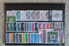 Lot de 45 timbres oblitérés des Pays-Bas