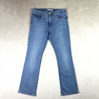 Womens LEVIS 315 Jeans Shaping Bootcut High rise Mid blue Denim Size 12 W32 L30