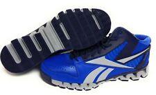 Mens Reebok Zig Nano Pro Fury V44517 Blue Grey SAMPLE Basketball Sneakers Shoes
